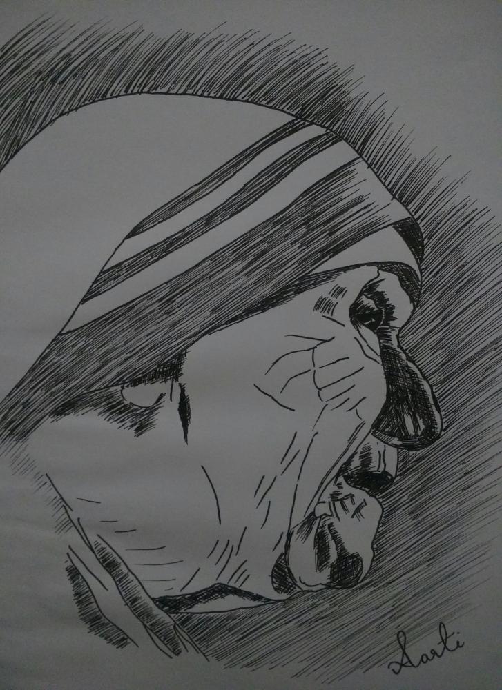 Mother Teresa by aartijadli